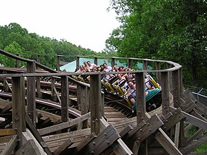 Custom Coasters International - CCI's Boss at Six Flags St. Louis