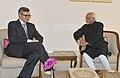 The Chief Minister of Jammu and Kashmir, Shri Omar Abdullah calling on the Vice President, Shri Mohd. Hamid Ansari, at Jammu on February 07, 2014.jpg
