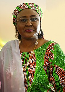 The First Lady of Nigeria Her Excellency Aisha Buhari.jpg