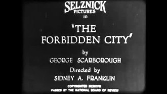 File:The Forbidden City (1918).webm