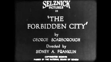 Tiedosto:The Forbidden City (1918).webm