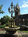 The Fountain and St. Michaels Church - geograph.org.uk - 2062820.jpg