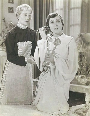 Marcelle Corday - Marcelle Corday and Luise Rainer in The Great Ziegfeld.