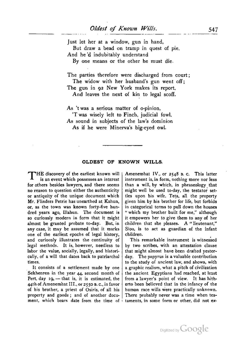 Page:The Green Bag (1889–1914), Volume 02 pdf/594