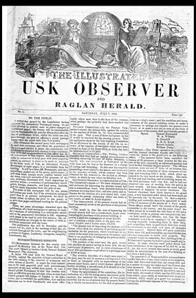 The Illustrated Usk Observer Jul 7 1855