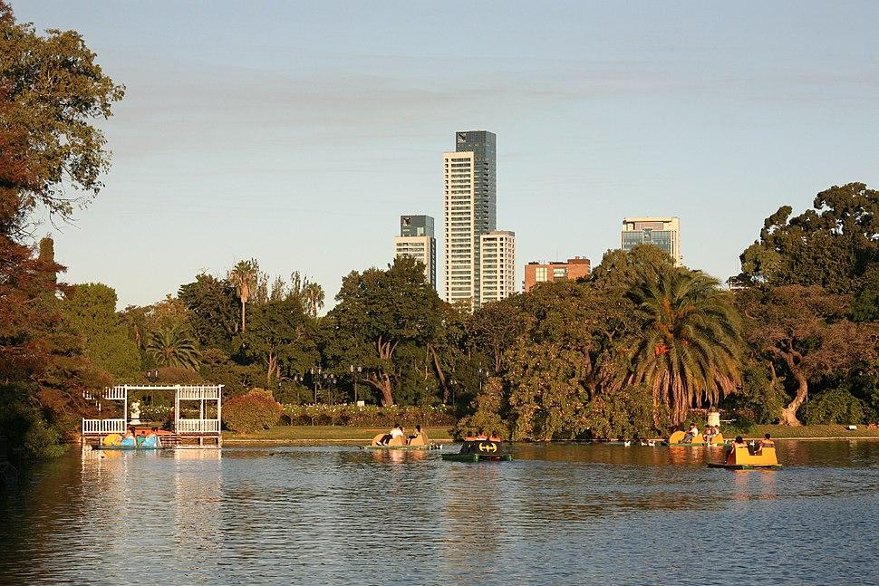 The Lake, The Rose Garden, Palermo, Buenos Aires