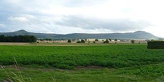 Fife - A closer view of the Lomond Hills, seen from Auchtermuchty