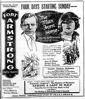 <i>The Man from Home</i> (1922 film) 1922 film
