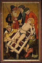 The Martyrdom of Saint Lawrence; (reverse) Giving Drink to the Thirsty