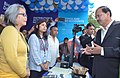 The Minister of State for Defence, Dr. Subhash Ramrao Bhamre interacting with the public at the Mudra Promotion Campaign, in Shillong on October 09, 2017.jpg