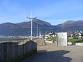 The Mournes from Newcastle Promenade - July 2015.jpg