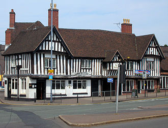 Architecture of Birmingham - The 15th century Old Crown, originally the hall of the Guild of St John, Deritend, is the sole surviving secular building of the medieval town.