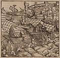 The Ottoman army conquers Otranto - Johannes Adelphus - 1513.jpg
