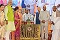 The President, Shri Ram Nath Kovind at the inauguration of the Mahamastakabhisheka Mohotsav 2018 of Gommatshwara Bhagwan Shri Bahubali Swami, at Shravanabelagola, in Karnataka.jpg