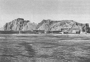 Van, Turkey - The rock and walled city of Van in 1893 by H. F. B. Lynch.