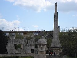 The Romanian Soldier Monument Carei.jpg