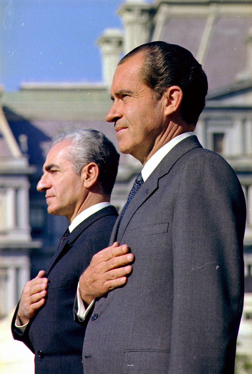 The Shah of Iran and President Nixon - NARA - 194301
