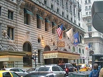St. Regis New York - Image: The St. Regis Hotel New York