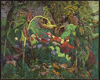 J. E. H. MacDonald - The Tangled Garden, 1916, National Gallery of Canada, Ottawa, Ontario