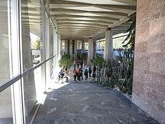 The entrance hall WHO HQ, Geneva