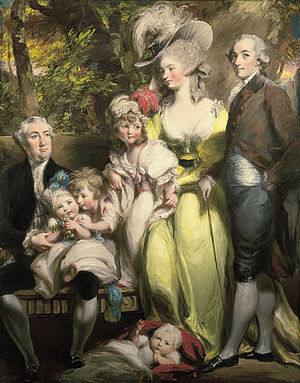 Sir John Taylor, 1st Baronet - Image: The family of Sir John Taylor by Daniel Gardner