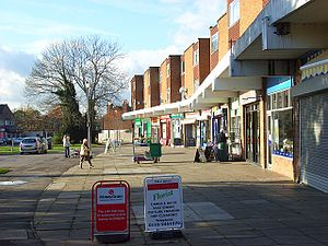 Emmer Green - Image: The shops, Emmer Green