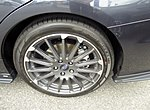 The tire wheel of Subaru LEVORG 1.6 STI Sport EyeSight (DBA-VM4).jpg