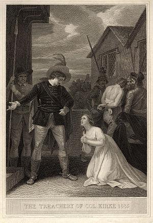 Percy Kirke - The Treachery of Colonel Kirke 1685 by Robert Smirke, late 18th century