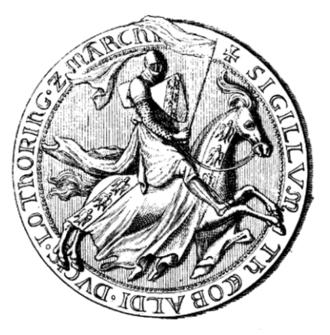 Theobald II, Duke of Lorraine - Seal of Theobald II