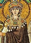 Theodora mosaic - Basilica San Vitale (Ravenna) v2