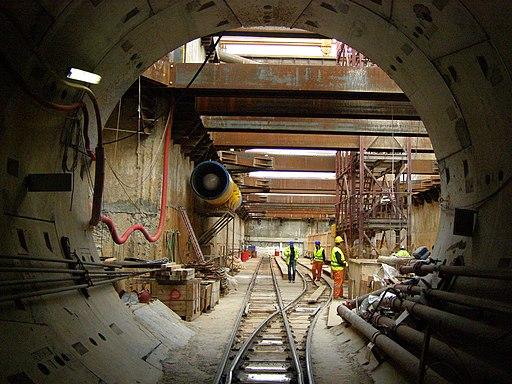 Thessaloniki Metro Construction 07