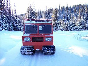 Snowcat - A trackmaster (a Thiokol Imp) in Montana