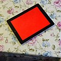 This is not a test. -Ipad plus -coffee equals red screen of death. (15102782778).jpg