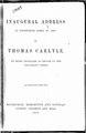 Thomas Carlyle inaugural address at Edinburgh.pdf