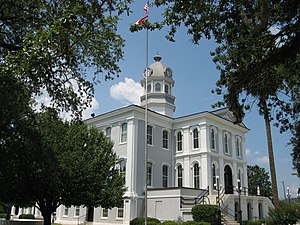 Former Thomas County Courthouse in Thomasville