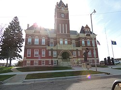 Thomas County Courthouse in Colby