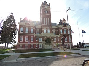 Thomas County, Kansas - Image: Thomas County Courthouse Colby Kansas 5 7 2014
