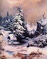 Thomas Moran - Winter in the Rockies.JPG