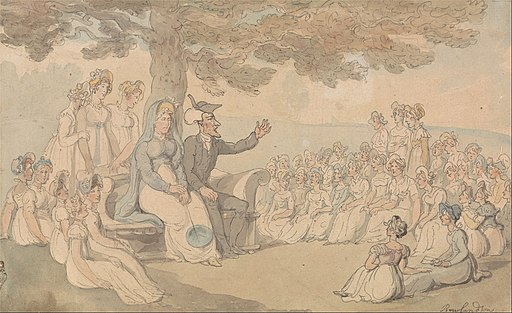 Thomas Rowlandson - Dr. Syntax Visits a Boarding School for Young Ladies - Google Art Project
