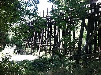 Willow Glen, San Jose - Three Creeks Trail Park.