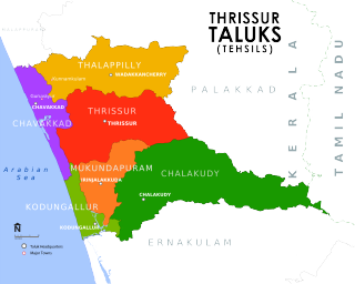 Administration of Thrissur district