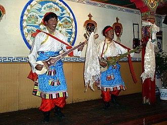 Music of Tibet - Tibetan dancing