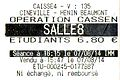 Ticket Opération Casse-noisette (The Nut Job) 2014.jpg