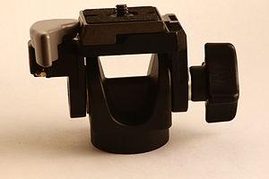 Tilt (camera) - One-way tilt head style tripod head