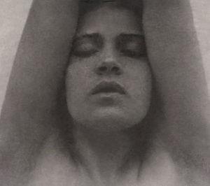 Tina Modotti - Image: Tina Modotti with her arms raised Edward Weston restoration