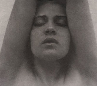 Tina Modotti - Image: Tina Modotti with her arms raised Edward Weston restoration