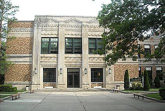 Tuckahoe High School - Image: Tms front
