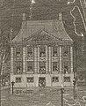 Toeschouwers in Mauritshuis bij vuurwerk in 1746.jpg