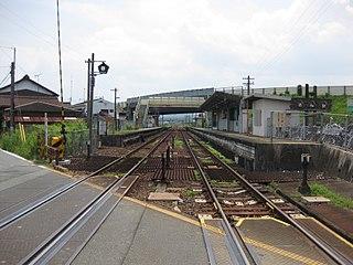 Tokuwa Station Railway station in Matsusaka, Mie Prefecture, Japan
