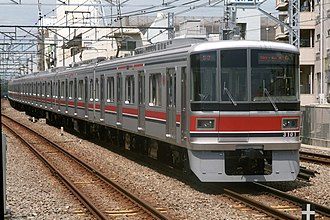 Tokyu Corporation - Image: Tokyu 3000 Toyoko